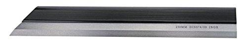Präzisions Haarlineale, DIN 874/00, ab 600 mm DIN 874/0 Blatt 2, INOX-Stahl, rostfrei, gehärtet, Größen: 50-1250 mm
