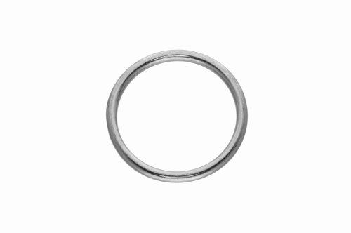 Dutyhook Ring Welded And Polished, Stainless Steel AISI 316