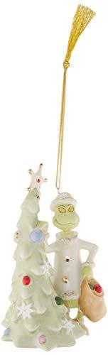Lenox Greedy Grinch Ornament -