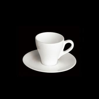 Dibbern Fine Bone China Espresso Obertasse Classico 0,11 l Weiss