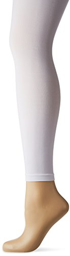Wear Moi Div60 Collant Fille, Blanc, FR : 6 Ans (Taille Fabricant : 6-8 Ans)