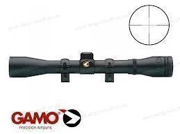 Gamo Serie Sporter VE 4x32 WR scope. Includes mounts (and