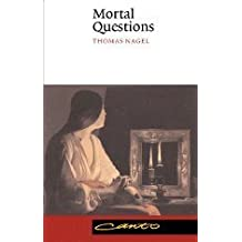 Mortal Questions (Canto) by Thomas Nagel (1991-06-28)
