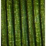 1m Lederband 2mm Oliv