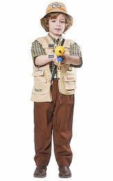 Angel Kleinkind Kostüm - Dress Up America Jungen Fischer Kostüm