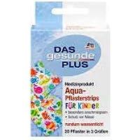 DAS gesunde PLUS Aqua-Pflasterstrips für Kinder, 20 Stück preisvergleich bei billige-tabletten.eu