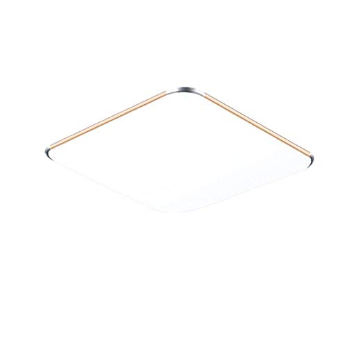 SAILUN 24W Ultra mince LED Blanc Chaud Plafonnier Lampe Moderne Lampe de Plafond pour salon, Cuisine, chambre à coucher, Salle de bain, Hôtel - Doré