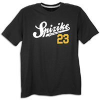 Air Spizike Shades 23 T-Shirt Schwarz / Gelb 541215-010 (Mittel) (Jordans Air Spizikes)