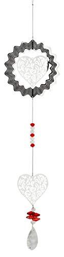Red Carpet Studios 32014 Geo Spinner mit hängenden Hängern, Herz -
