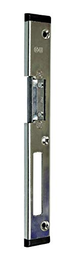 GU BKS Secury Haustür Schließblech mit AT-Stück Rechts 245x30x8mm für Profil Wymar 3000 -