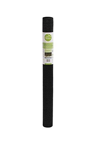 Catral 53010057 - Mini-Rollo - Malla Ocultación Total, Verde Oscuro, 100x1000x4 cm
