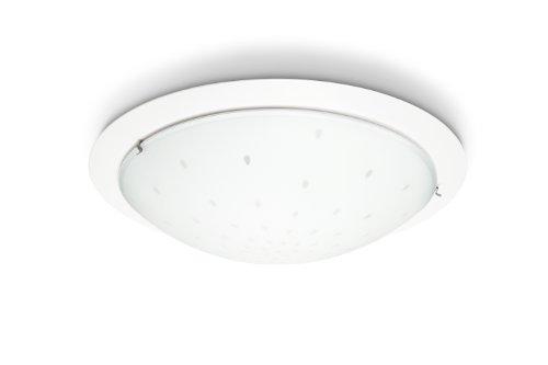 Plafoniere A Led Per Bagno Philips : Philips fountain lampada bagno soffitto in vetro bianco satinato