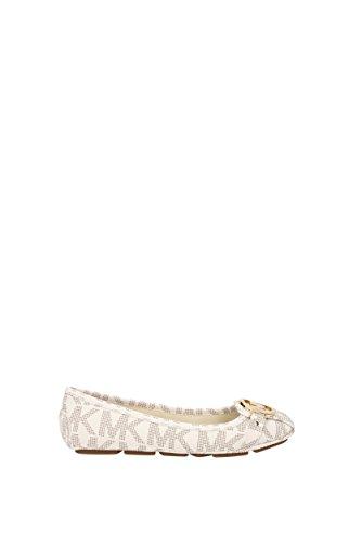 Michael Kors Ballerinas Fulton Moc Damen - PVC (40T3FUFR1QVANILLA) 35 EU - Michael Kors Ballerinas Schuhe