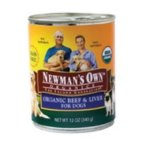 Newman' s Own Beef & Liver Dog Food Can (12 x 12 oz)