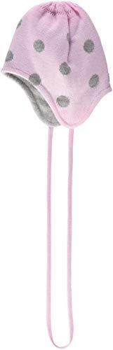 Döll Baby-Mädchen Mütze Inka Bindemütze Strick, Rosa (Pink Lady 2720), 39 cm
