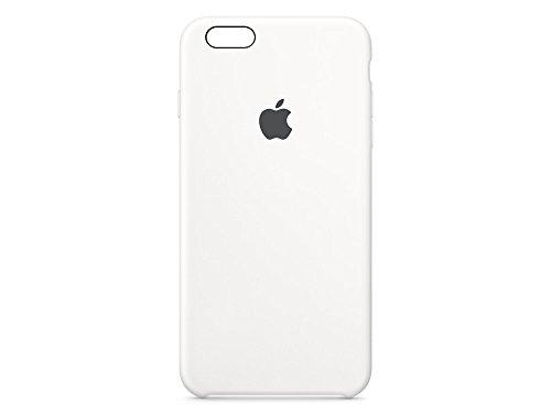 Apple Silikon Case (iPhone 6s Plus), Weiß