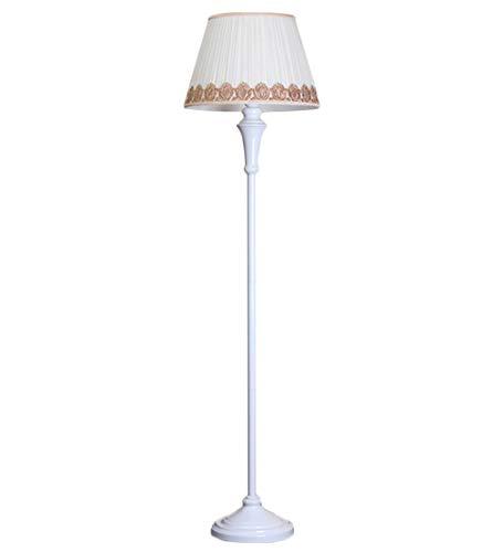 LCF Lámpara de pie Mesita de Noche Americana Lámparas de Mesa largas...