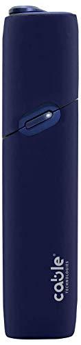 Soft Case für IQOS 3 Multi, weiche Schutzhülle für die IQOS 3 elektronische Zigarette Multi Soft Touch Silikon, gegen Kratzer, Stürze und versehentliche Stöße, Mordibo-Häuser (Blue)