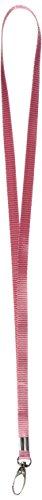 2PCS Pink Nylon Riemen String Schlüssel Halter Lanyard 40,9cm Länge (Strings 18g)