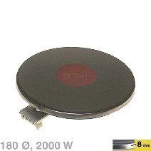 230v-gerät (Kochplatte 180mmØ, 2000W 230V, passend zu Geräten von:AEG Agni Alno-Küchen (Z...)