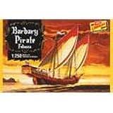"""Lindberg modelos ln205""""Barbary de barco pirata de plástico modelo a escala 1: 250"""