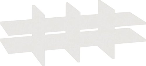 VCM Facheinteilung Braso 288 | Passend für Aktenregal Braso Lichtgrau