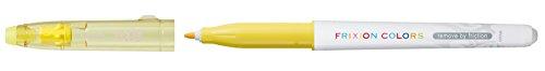 Pilot Frixion Buntstifte, radierbar, mit Faserspitze 12er-Pack gelb