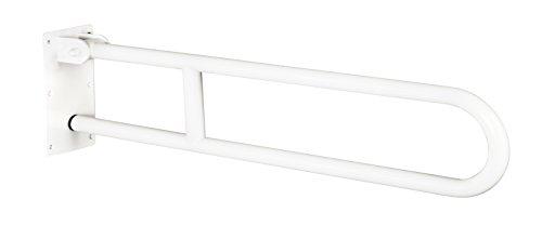 Bisk 70 x 20.2 x 10 cm 700 mm 25 mm Pro Barre d'appui relevable, Blanc