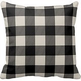 py Buffalo Check Plaid Simple And Fashion Pillow Case Cover (Preppy Plaid)