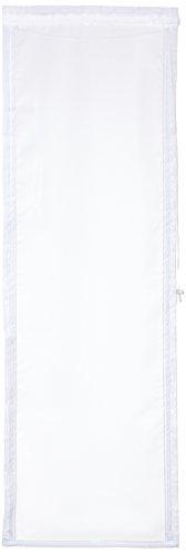 Home fashion 69941–101–tenda a pannello in voile, 140x 45cm, bianco