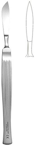 Skalpell spitz, Länge 160mm, Breite 40mm, chirurgischer Edelstahl