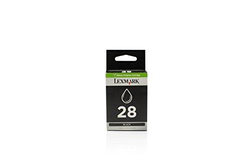 Lexmark Original Tinte kompatibel Z 1320, 18C1428, 28, No 28, NO28 0018C1428E 018C1428E 18C1428E, Premium, Schwarz, 175 Seiten -