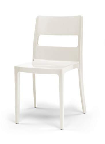 Set 6 sedie Sai Colore Tortora
