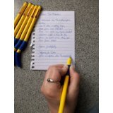 Best Pens Left Handeds - pack of 5 swanneck pens yellow barrel Review