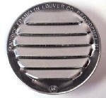 Maurice Franklin Louver-2 Round Aluminum Louver with Insect Screen (Priced Per Bag of 6). Item #2 RL-100 by Maurice Franklin Louver