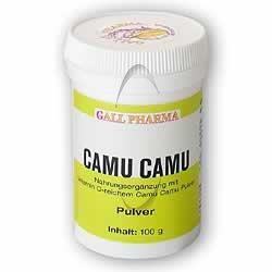CAMU Camu Pulver 100 g Pulver