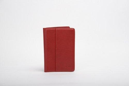 Picard 8652 Busy Rot - praktische Tasche für Tablet (13 Zoll), iPad Mini Modelle, Rindsleder