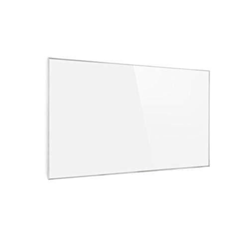 Klarstein Wonderwall 45 Infrarot-Heizung - Wandheizung, 50 x 90 cm Heizpanel, 450 Watt, Carbon Crystal Technik, Wochentimer, Auto-Abschaltfunktion, Allergiker-geeignet, IP24, weiß