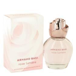 Armand Basi Rose Lumiere Eau De Toilette Spray By Armand Basi - 3.3 oz -