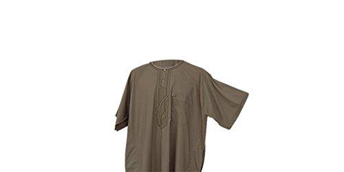Desert Dress - Marokkanische Thobe Robe Arabisch Herren DishDash Jubba Bekleidung Betender - Beige, ()