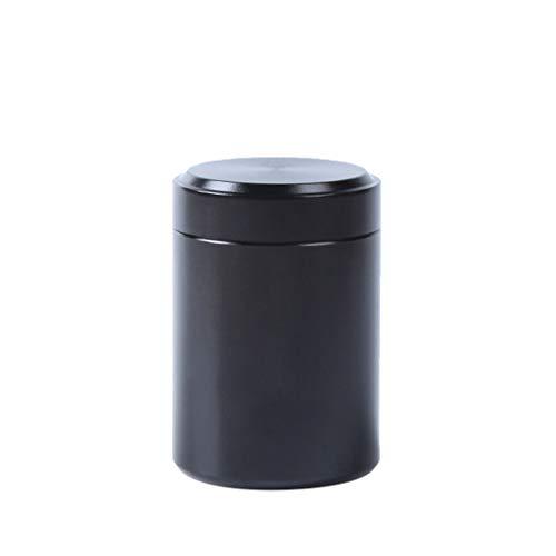 TianranRT Tee Kaffee Zucker Küche Lagerung Kanister Gläser Töpfe Behälter Dosen (Schwarz) -