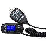Uphig QYT KT-8900D Dual-Band VHF UHF Mini-Farbdisplay Vierfach-Standy 25W / 20W Mobiles Auto Radio Walkie Talkie Auto Mobilfunkradios FM