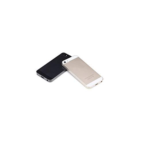 SO-buts iPhone 5 /5S Handyhülle, Transparentes TPU ultraflaches Telefongehäuse Hülle, 0,2 mm Weiche Rückseitige Abdeckung, Kratz- und Kratzschutz,Schutzhülle für iPhone 5 /5S (Transparent)