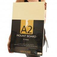 goldline-a2-carton-pluma-varios-colores-claros-10-unidades