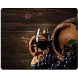 Luxlady Gaming Mousepad Image ID: 22568817vino concetto con vetro UVA frutta e barile