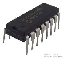 MCP3008-I/P-Analog/Digital-Wandler, Oktal, 10 bit, 200 kSPS, Pseudo-Differenz, asymmetrisch, Seriell, SPI (100 pieces)