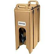 CAMBRO 500lcd-157Polyethylen camtainers isoliert Getränke Carrier, 4–3/2,8L, Kaffee Beige