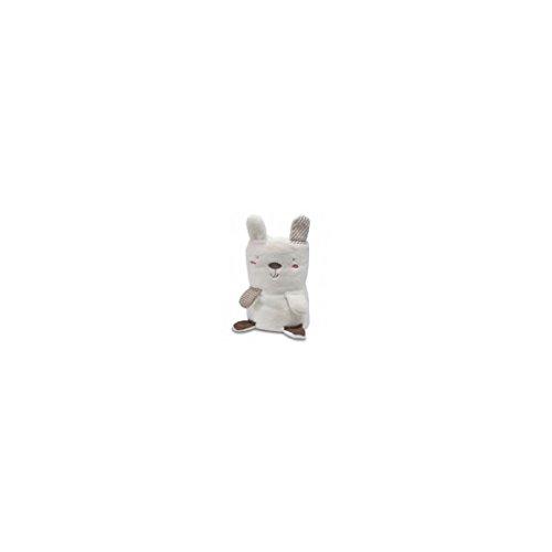 pirulos 86220801–Spielzeug Microfaser Decke, 80x 90, Wald, weiß