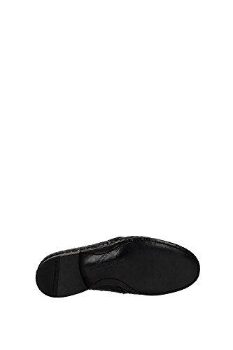 A10030AC14380999 Dolce&Gabbana Derby Homme Cuir Noir Noir