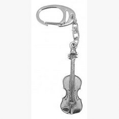 fine-quality-english-pewter-violin-keyring-lovely-gift-idea